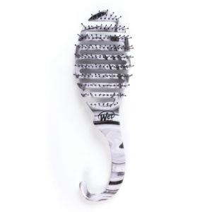 SHOWER FLEX - Black & White Swirl
